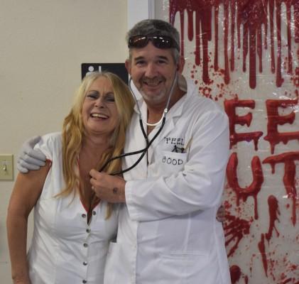 Dr and Nurse Feel Good