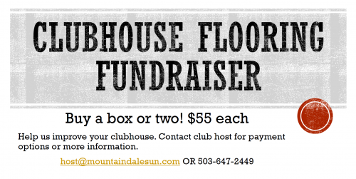 Clubhouse Flooring Fundraiser