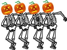 Halloween Skeletins
